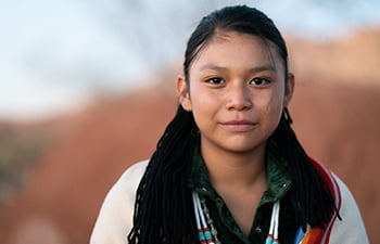 Portrait of a First Nations Community Member